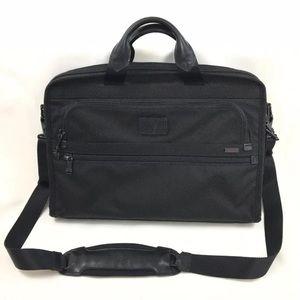 Tumi Alpha Deluxe Portfolio Laptop Ballistic Bag